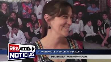 Photo of Redacción Noticias |  34° ANIVERSARIO ESCUELA ESPECIAL N° 7 – LAS HERAS SANTA CRUZ