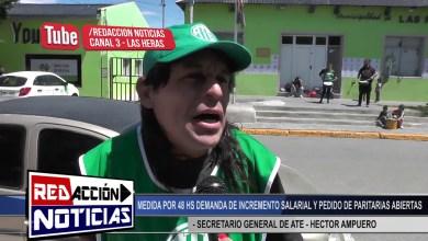 Photo of Redacción Noticias |  HECTOR AMPUERO – MEDIDA DE FUERZA POR 48 HS – LAS HERAS SANTA CRUZ