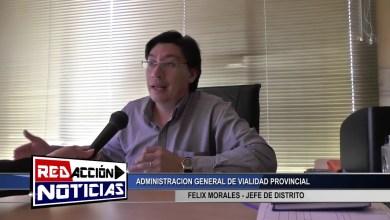 Photo of Redacción Noticias |  FELIX MORALES – JEFE DE DISTRITO ADMINISTRACION GENERAL DE VIALIDAD PROVINCIAL-LAS HERAS SANTA CRUZ