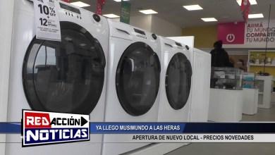 Photo of Redacción Noticias    NUEVO LOCAL DE MUSIMUNDO EN LAS HERAS SANTA CRUZ