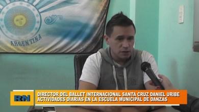 Photo of Redacción Noticias |  Daniel Uribe – Actividades desde la Escuela Municipal de Danzas