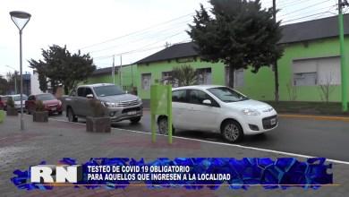 Photo of Redacción Noticias |  Testeo OBLIGATORIO COVID-19 en la Localidad – Las Heras Santa Cruz