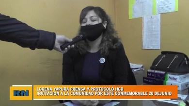 Photo of Redacción Noticias    Lorena Yapura – HCD de Las Heras – Invitación a embanderar nuestra ciudad por el dial a bandera