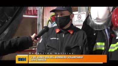 Photo of Redacción Noticias |  DÍA del Bombero VOLUNTARIO. LUIS ZARAZA – Las Heras Santa Cruz