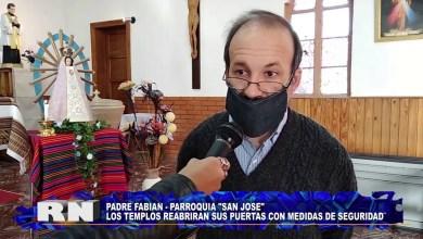 Photo of Redacción Noticias |  PADRE FABIAN    REAPERTURA DE TEMPLOS – Las Heras Santa Cruz.