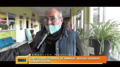 Photo of Redacción Noticias |  TERMINAL   NUEVOS HORARIOS – Las Heras Santa Cruz