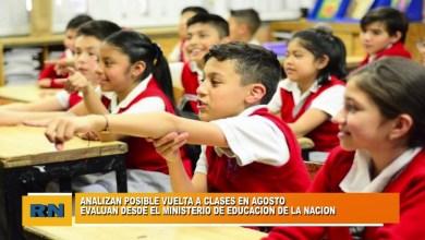 Photo of Redacción Noticias |  VUELTA A CLASES EN AGOSTO?