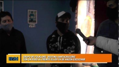 Photo of Redacción Noticias |  Grupo folklorico «Destino Santacruceño» desde Las Heras Santa Cruz
