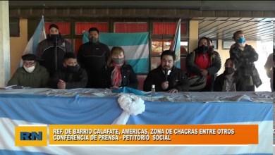 Photo of Redacción Noticias |  Petitorio Barrios Unidos de Las Heras parte 1