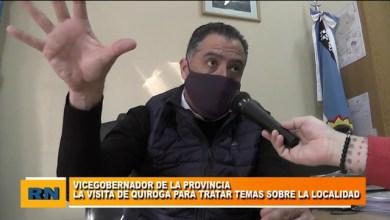 Photo of Redacción Noticias |  VICEGOBERNADOR QUIROGA: «Con Josema la idea es trabajar en conjunto