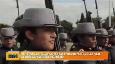 Photo of Redacción Noticias |  Se abrieron las inscripciones para formar parte de las filas de nuestro Ejercito Argentino