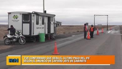 Photo of Redacción Noticias |  El 3º IFE sera el ultimo en pagarse anuncio el jefe de Gabinete Cafiero