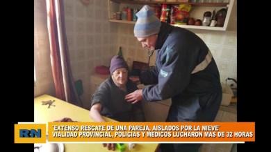 Photo of Redacción Noticias |  RESCATE: Vialidad, Policias y Médicos recataron una pareja de ancianos atrapados en la nieve