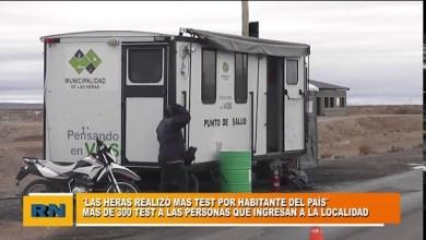 Photo of Redacción Noticias |  Las Heras realizo mas de 300 Test de Covid-19 a las personas que ingresan a la ciudad