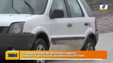 Photo of Redacción Noticias |  Julian Sauco – Trabajos en las calles de los barrios mas afectados por el temporal