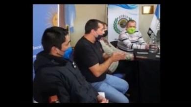 Photo of Redacción Noticias |  Conf. de Prensa y debate sobre Servicios Públicos en el HCD – Las Heras Santa Cruz Parte 1
