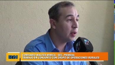 Photo of Redacción Noticias    Comisario Mimica – Sec. Primera – Trabajos en conjunto con grupo de operaciones rurales – Parte 1