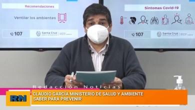 Photo of Redacción Noticias |  PARTE DE SALUD DE LA PROVINCIA DE SANTA CRUZ  – saber para prevenir