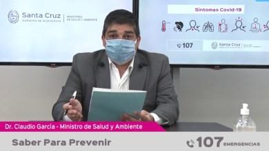 Photo of Redacción Noticias |  Parte de salud de la provincia de Santa Cruz – «Saber para prevenir»