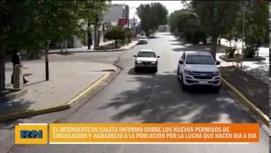 Photo of Redacción Noticias |  Caleta Olivia – Fernando Cotillo hablo sobre los permisos actuales y agradeció a la ciudad