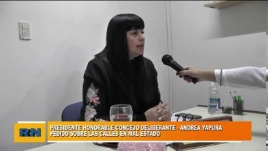 Photo of Redacción Noticias |  Concejal Andrea Yapura –  distintos proyectos que se presentaron en la ultima sesión del HCD
