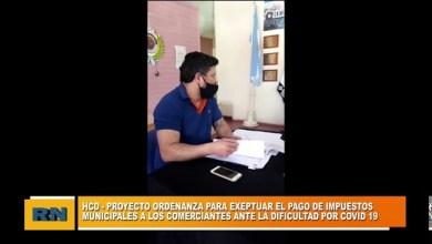 Photo of Redacción Noticias |  Montero presento un proyecto de ordenanza para exceptuar el pago de impuestos a los comerciantes
