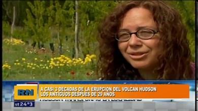 Photo of Redacción Noticias |  Se conmemoran 29 años de la explosión del volcán Hudson (Informe TN)
