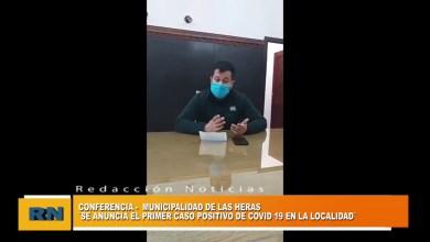 Photo of Redacción Noticias |  La Municipalidad de Las Heras anuncio el 1° caso de Covid-19 importado desde Comodoro