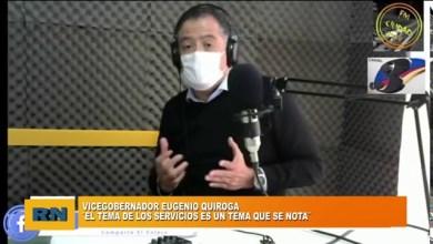 Photo of Redacción Noticias |  Vicegobernador Quiroga: «El tema de los servicios públicos es algo que se nota»