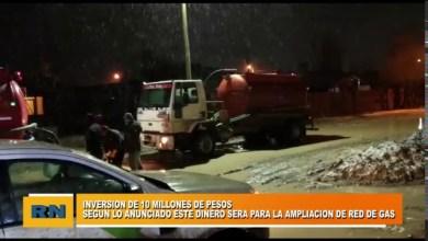 Photo of Redacción Noticias |  El Municipio anuncio la inversión de 10 millones de pesos para la ampliacion de red de gas