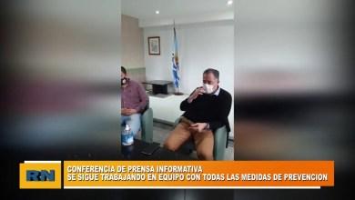 Photo of Redacción Noticias |  Conferencia de prensa del COE de Las Heras Santa Cruz PARTE 2