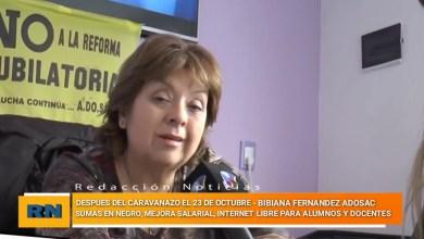 Photo of Redacción Noticias |  ADOSAC- Reclamo por mejora salarial, no a la sumas en negro e internet libre para alumnos y docentes