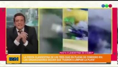 Photo of Redacción Noticias |  La fiesta clandestina de los 3 días en Comodoro – El organizador dijo «fuimos a limpiar la playa»