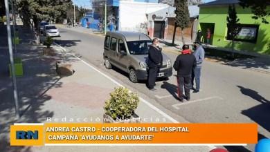 Photo of Redacción Noticias |  Campaña «Ayúdanos a ayudarte» – Cooperadora Nuestro Hospital – Andrea Castro