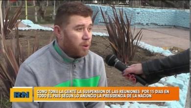Photo of Redacción Noticias |  Vecinos y su opinión sobre las suspensiones de las reuniones sociales en Las Heras