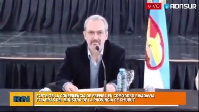 Photo of Redacción Noticias    Covid-19 en Comodoro: Conf. de prensa del Ministro de la provincia de la provincia del Chubut