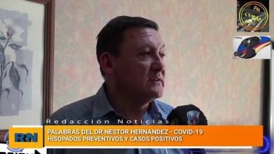 Photo of Redacción Noticias |  Dr. Hernandez – Detalles del accionar medico ante la internación en terapia del paciente con covid