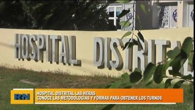 Photo of Redacción Noticias    El hospital de Las Heras da a conocer los nuevos métodos y formas para obtener turnos