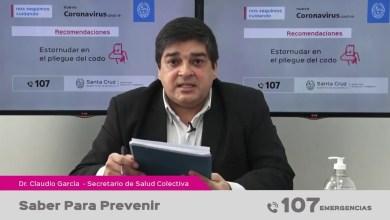 Photo of Redacción Noticias |  Garcia  'Los que más se contagian son los jóvenes, pero impacta más en los adultos mayores'