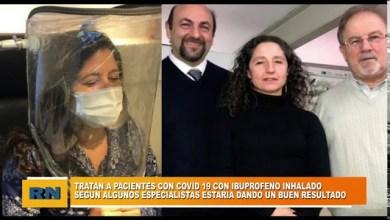 Photo of Redacción Noticias    Tratan a pacientes con Covid-19 con ibuprofeno inhalado. Según especialistas estaría dando resultado
