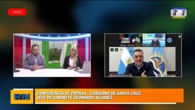 Photo of Redacción Noticias |  Conferencia de prensa con el jefe de gabinete del Gobierno de Santa Cruz Leonardo Alvarez