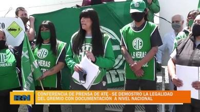 Photo of Redacción Noticias |  Conferencia de prensa de ATE – Se demostró la legalidad del gremio.