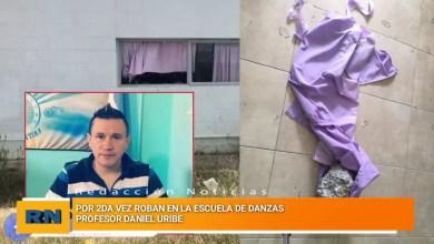 Photo of Redacción Noticias |  Por segunda vez roban en la escuela de danzas del profesor Daniel Uribe