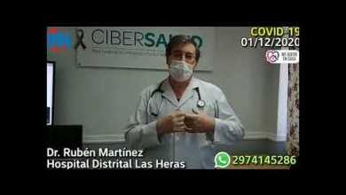 Photo of Redacción Noticias |  Rubén Martinez habla de la situacion sanitaria nuestra ciudad de Las Heras