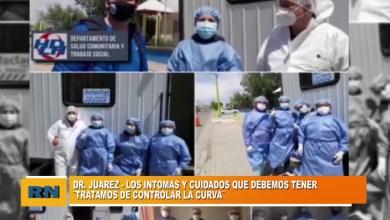 Photo of Redacción Noticias |  El Dr Juárez se refirió a como los ciudadanos enfrentan la enfermedad del COVID-19