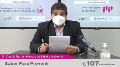 Photo of Redacción Noticias |  Saber para prevenir – Informe de salud de la Provincia de Santa Cruz