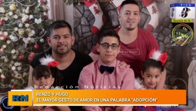 Photo of Redacción Noticias    Renzo y Hugo – El mayor gesto de amor en una palabra «Adopción» – Las Heras Santa Cruz