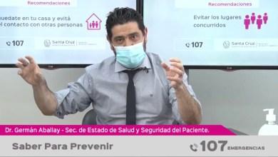 Photo of Redacción Noticias |  Parte de salud provincial (audiovisual) «Saber para prevenir»
