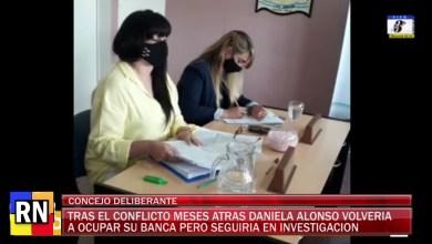 Photo of Redacción Noticias |  Desde el HCD de Las Heras se levanto la suspensión de manera provisoria a la Concejal Alonso
