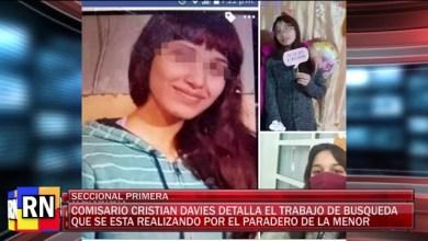 Photo of Redacción Noticias    COMISARIO DAVIES – SE SIGUE BUSCANDO EL PARADERO DE LA MENOR – LAS HERAS SNATA CRUZ
